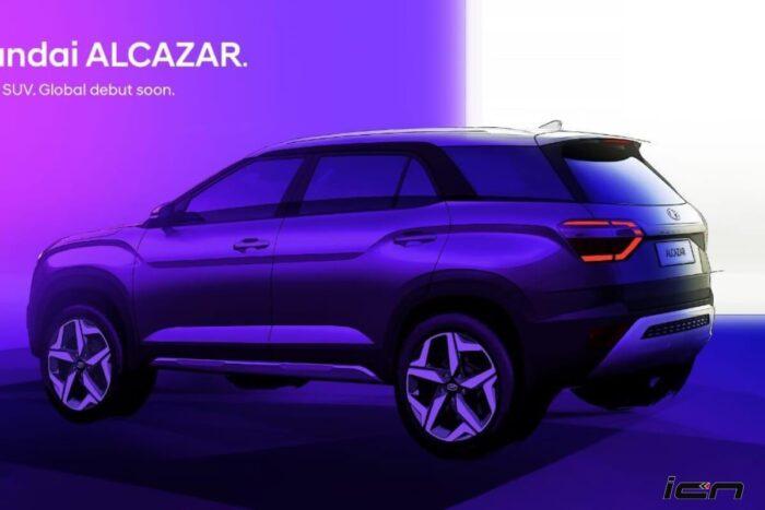 Hyundai Alcazar Teased
