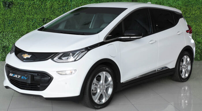 The first Chevrolet Bolt EV is sold from Al Ghandi 3