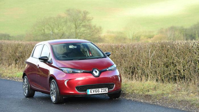 المملكة المتحدة سيارات كهربائية