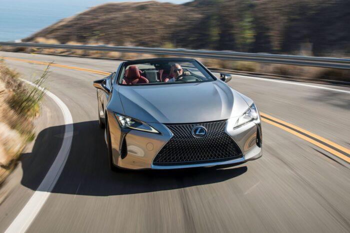 مواصفات وسعر سيارة لكزس LC 2021 مع الصور
