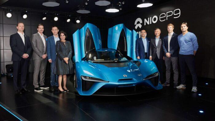 أسرع السيارات الكهربائية في العالم