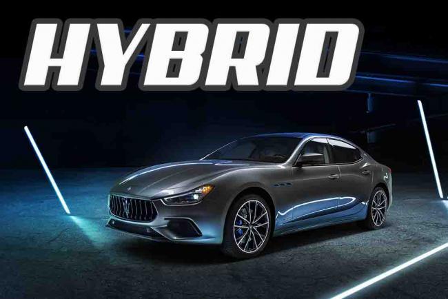 سيارة مازيراتي جيبلي هايبرد 2021