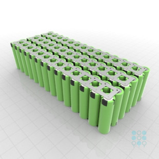 6s14p 21.6v battery pack with panasonic pf 18650 battery cu iso