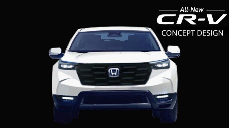 سيارة هوندا CRV 2023 الجديدة كلياً