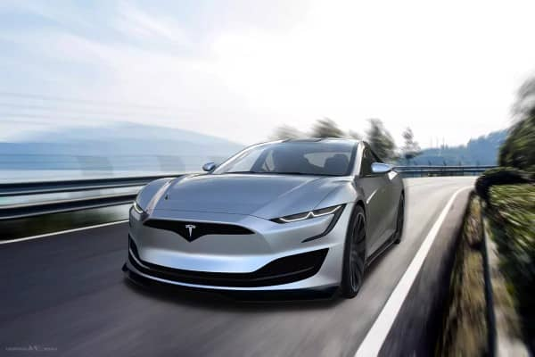 سيارة تسلا موديل S 2022